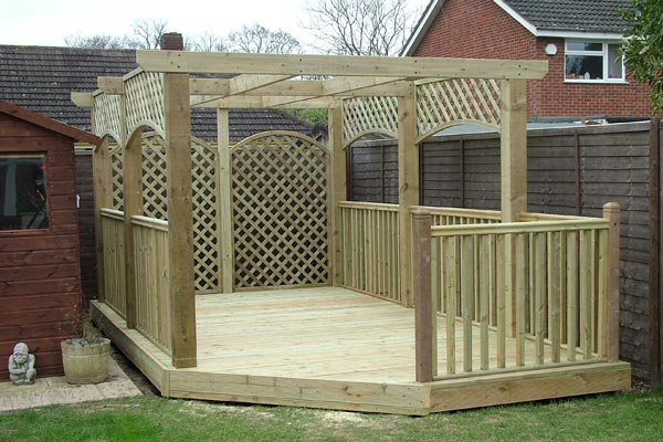 J garmston general handyman providing friendly service for Flat pack garden decking